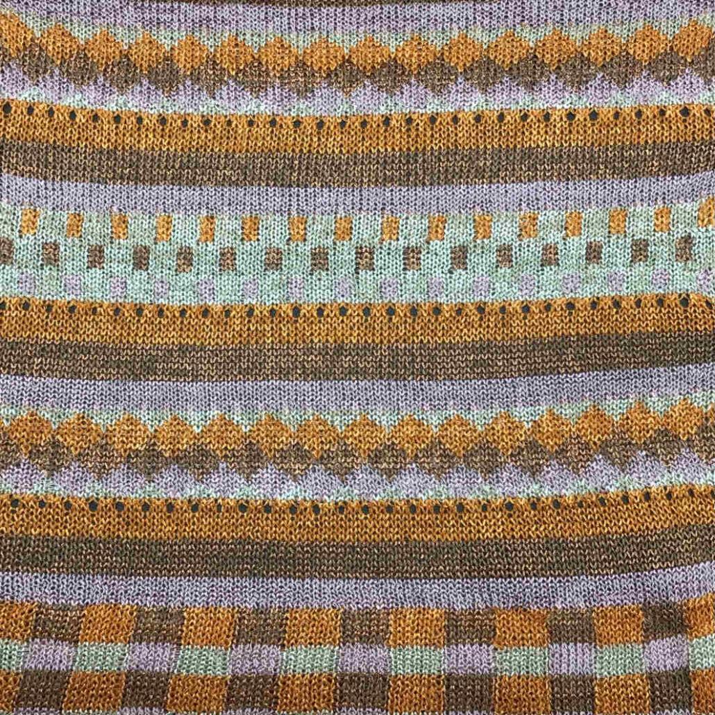 Full filato yarn viscosa viscose stitch