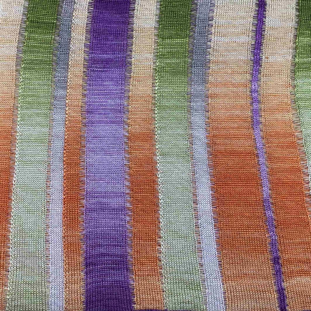 Guizzo Flame filato yarn viscosa viscose stampato printed stitch