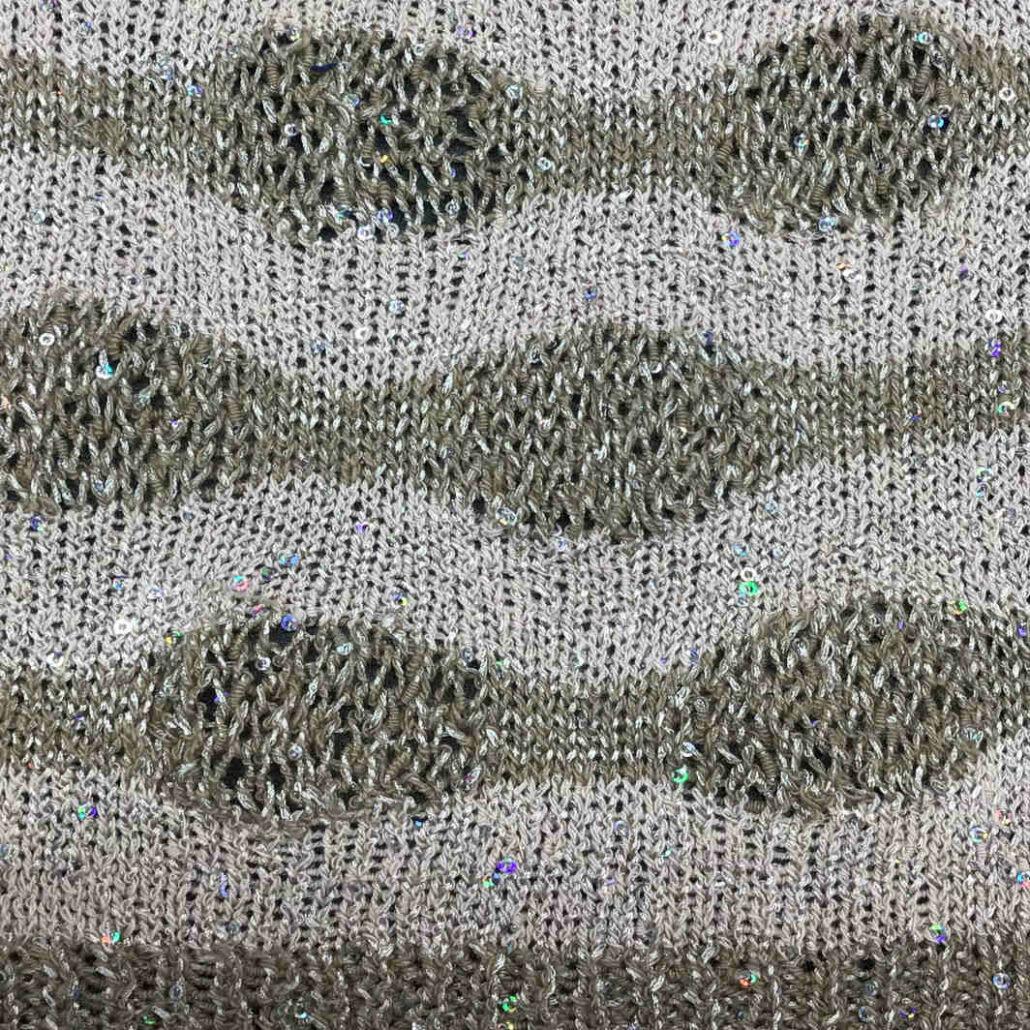 Princess filato yarn cotone cotton recycled paillettes stitch