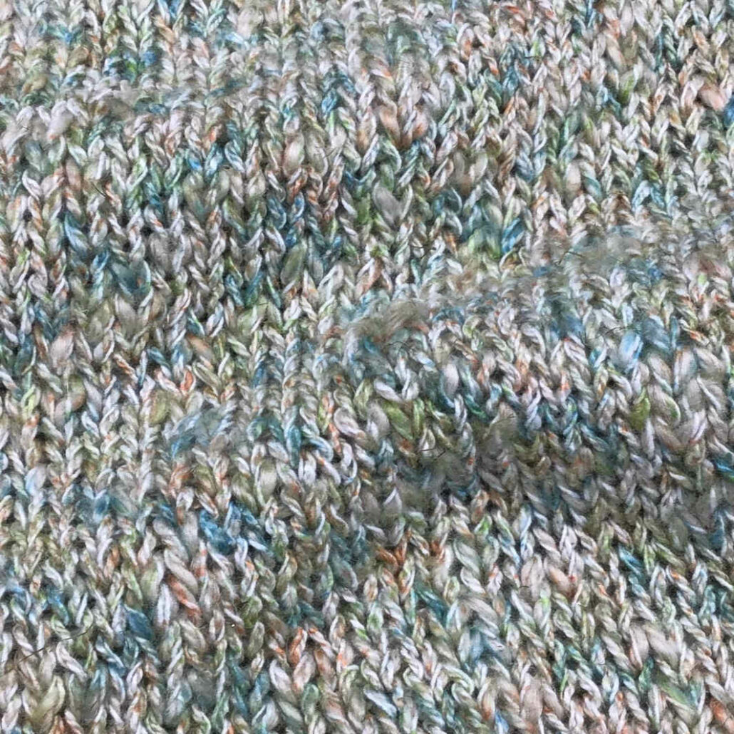 Quarz Spray filato yarn mosso
