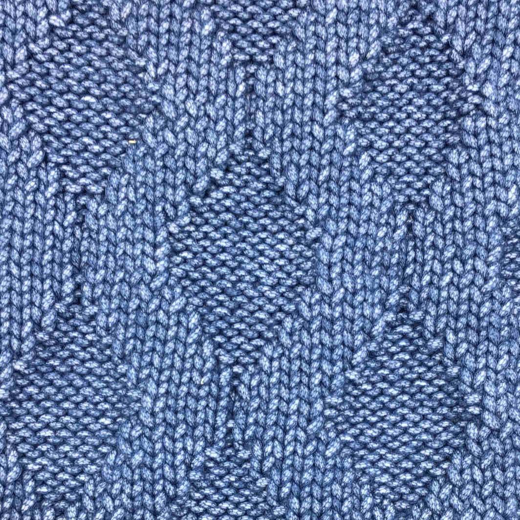 Teak filato yarn cotone cotton stitch